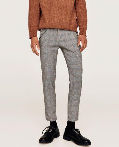 Image 2 De Pantalon A Carreaux Avec Chaine De Zara Men S Fashion Michaellouis Www Michaellouis Com Mens Outfits Mens Fashion Fashion