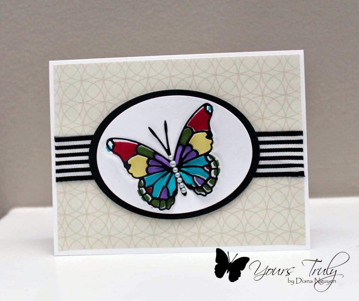 Yours Truly: Color Box Butterfly | Butterfly cards, Color ...