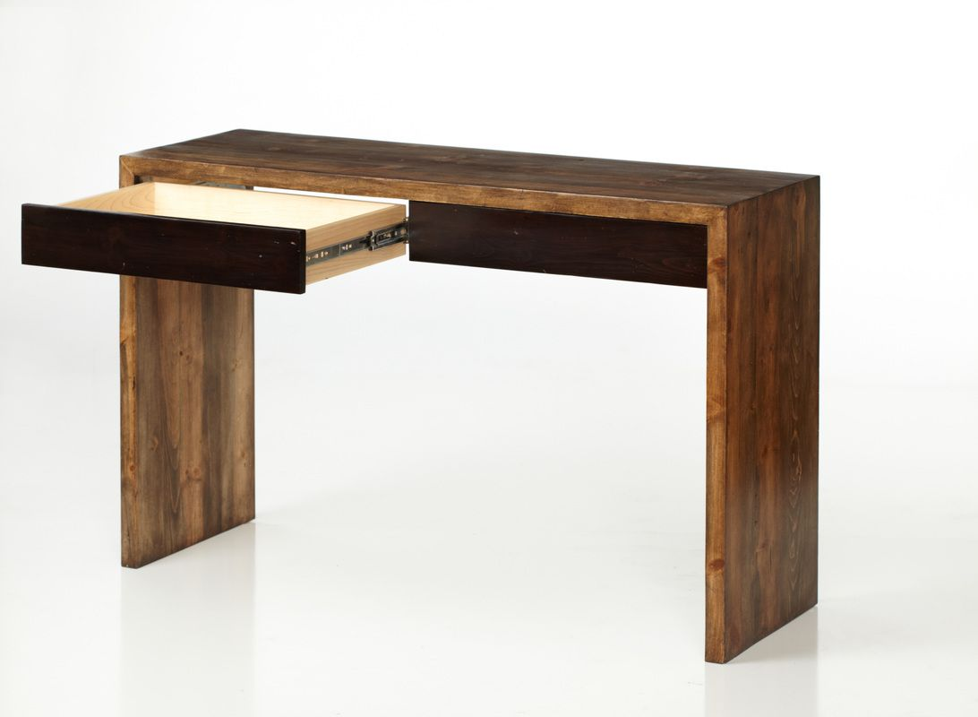 Clean & simple beetle-kill desk by Ryan Schlaefer Fine Furniture, Inc. @RTSFurniture Made in #Colorado