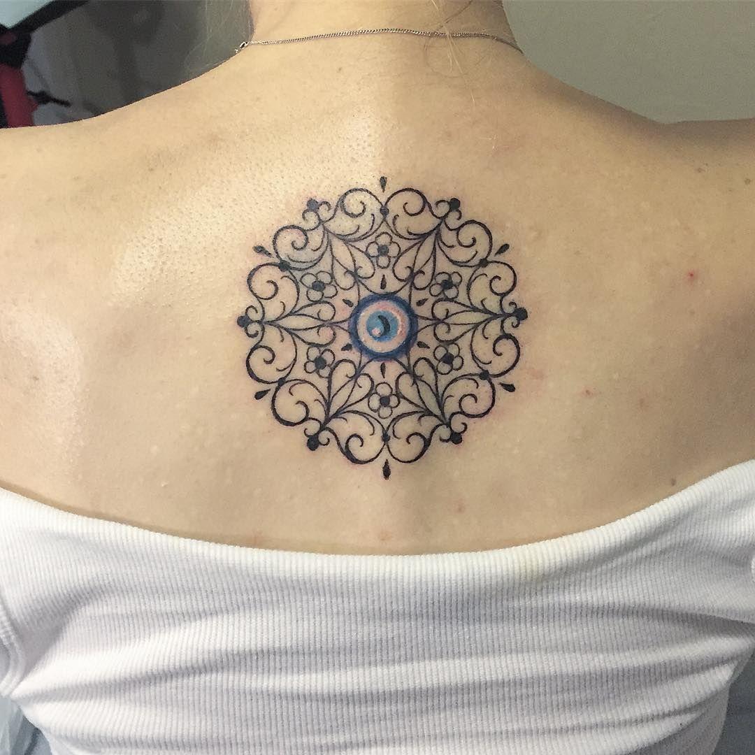 15 Tiny Evil Eye Tattoo Ideas to Ward Off Misfortune
