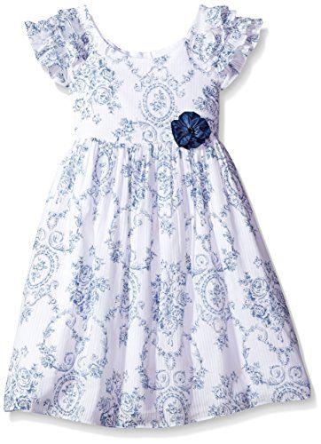 1efbfa599 Little Girls' Ruffle Collar Dress | Dress | Dresses, Collar dress ...