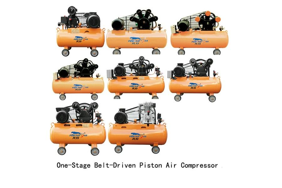 Shandong China Coal Industrial Equipment Co.,Ltd - Product - HOT! Belt-Driven Piston Air Compressor
