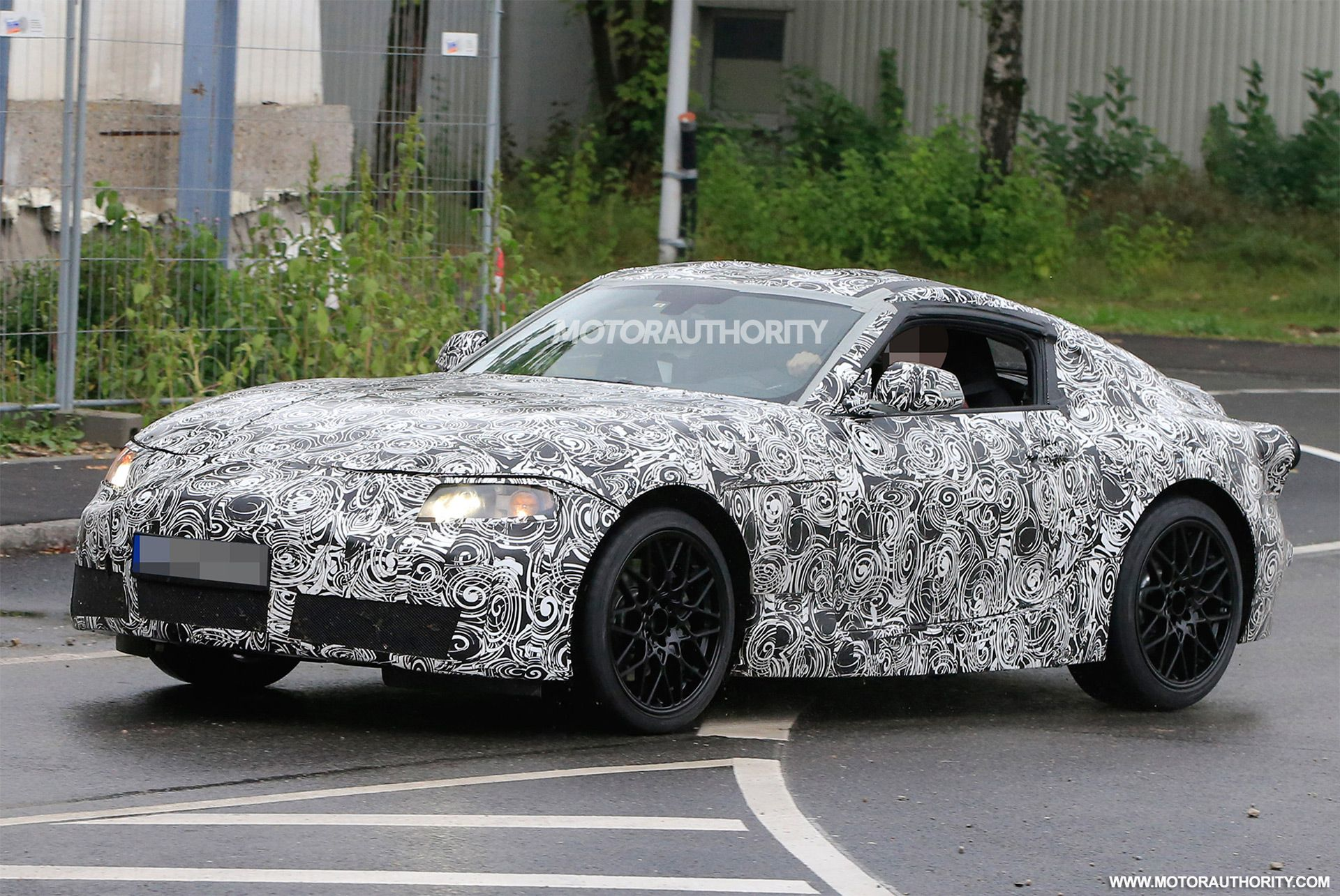 2019 Toyota Supra Spy Shots And Video New Pro 2017