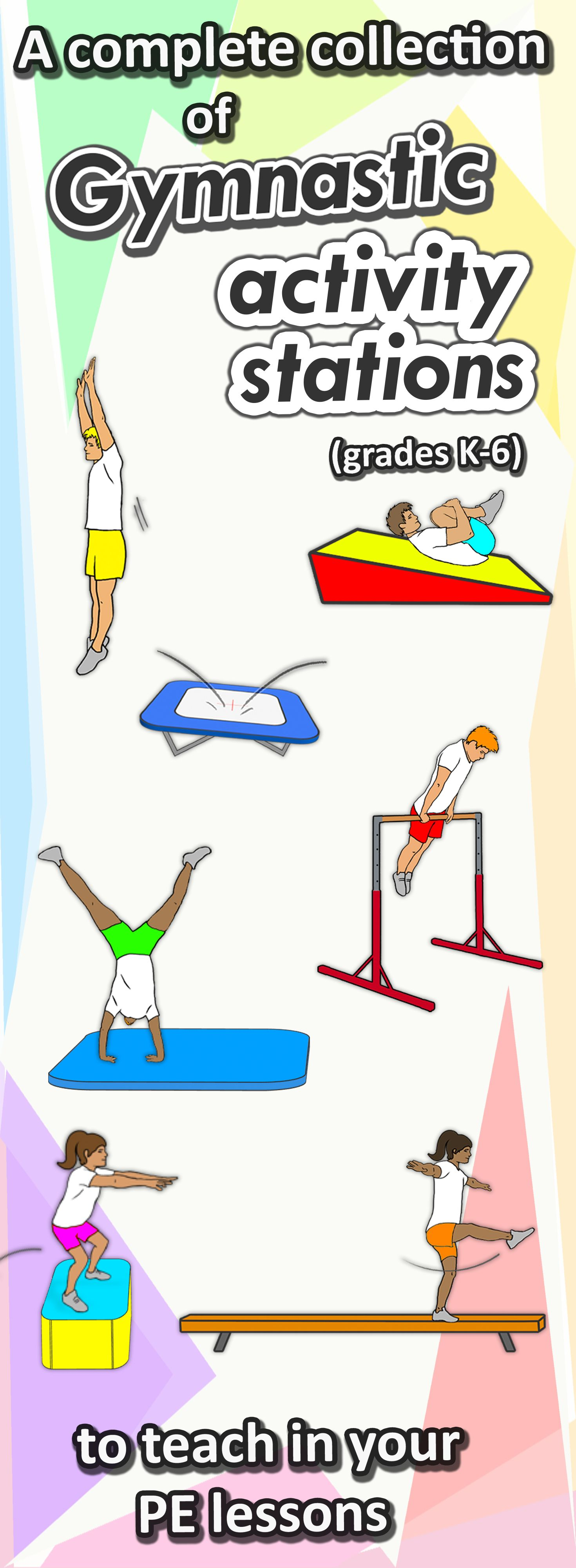 Gymnastic Stations For Pe