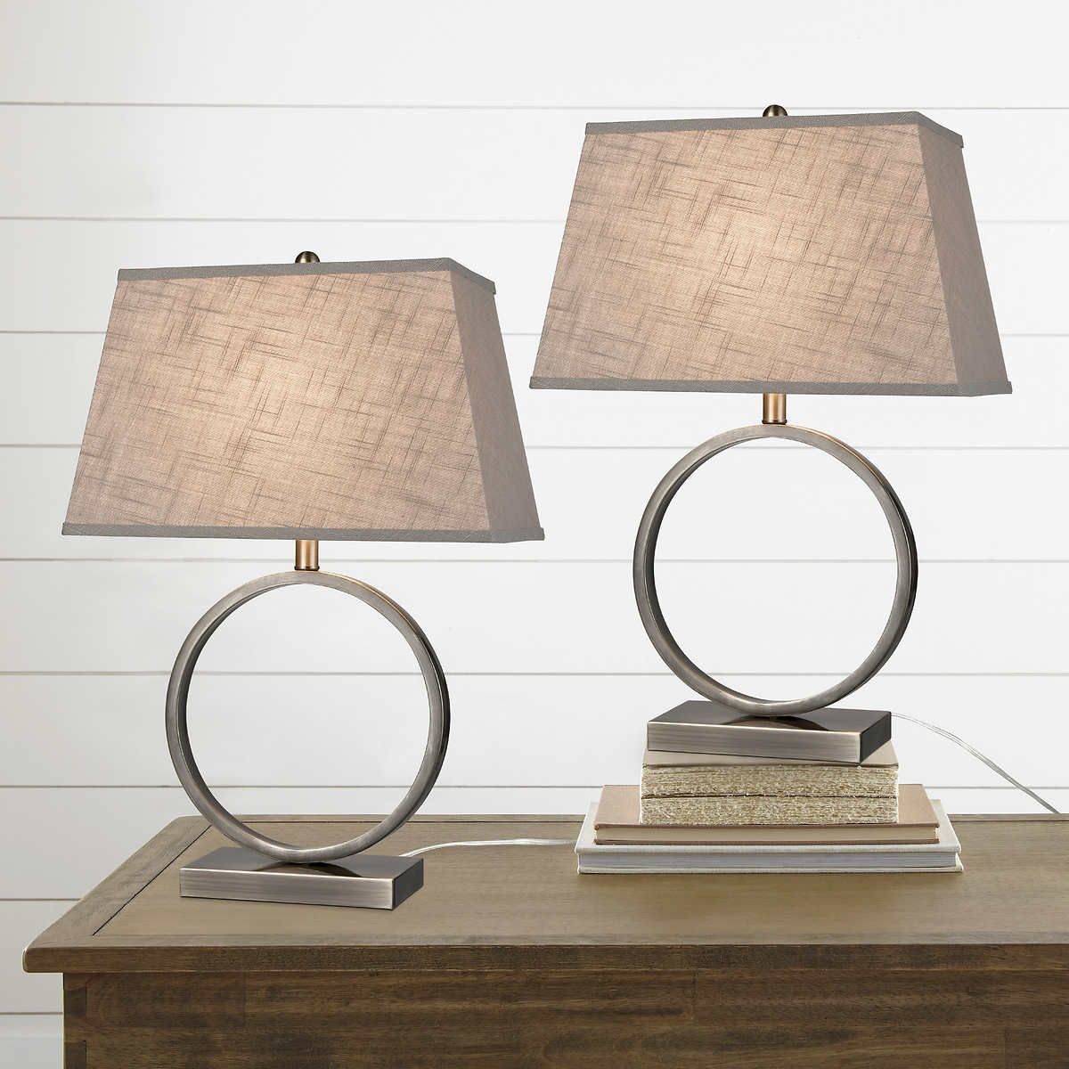 Halo Metal Table Lamp, 2pack in 2019 Metal table lamps