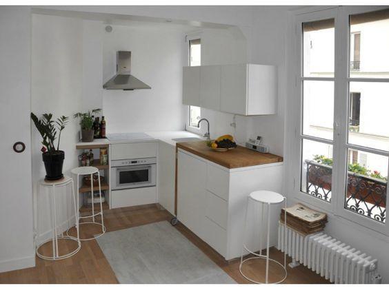 Id e d co petit appartement location cocinas espacios y for Deco appartement location