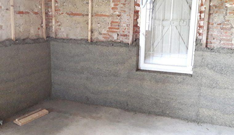 L'isolation au chanvre en 24 heures - BCB Tradical | Enduit chaux chanvre,  Briquette de parement, Rénovation vieille maison