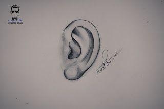 كيفية رسم الاذن بشكل جانبي بالرصاص مع الخطوات للمبدتئين Http Ift Tt 2tvu1ti تعلم رسم اجزاء الوجه تعلم رسم الوجه دور Islamic Art Pattern Drawings Art Drawings