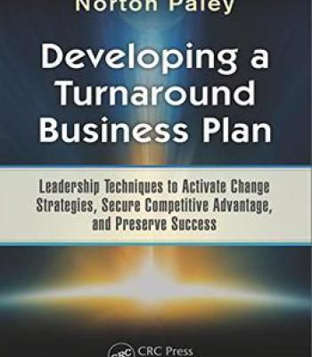 Developing A Turnaround Business Plan Pdf  Business
