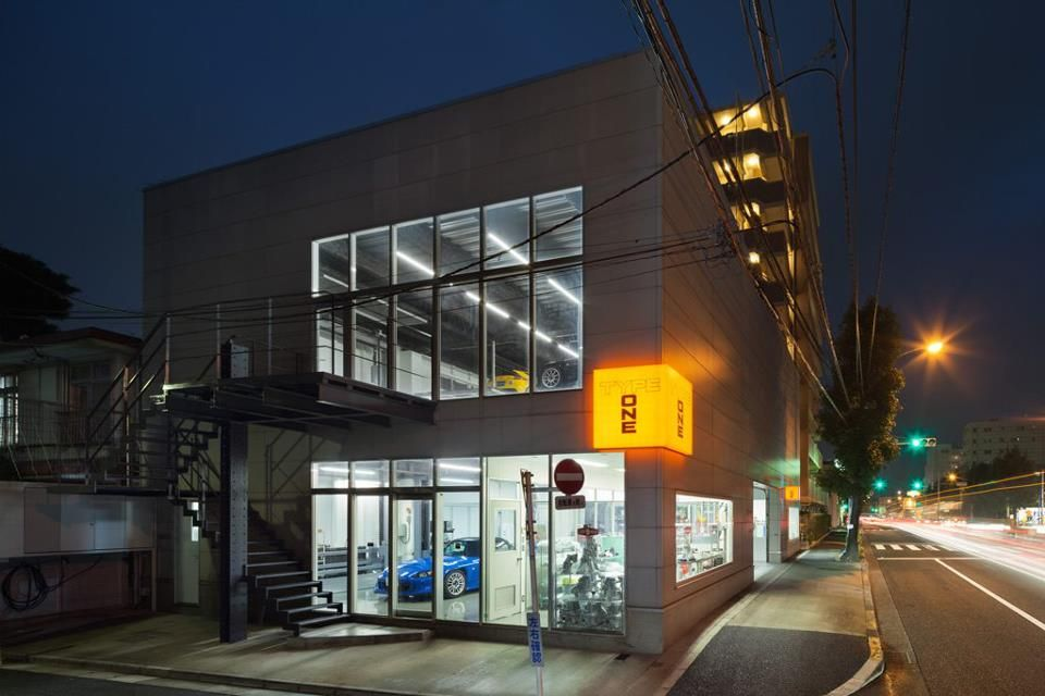 Spoon Sports Garage In Japan Jdm Hondas Pinterest Garage