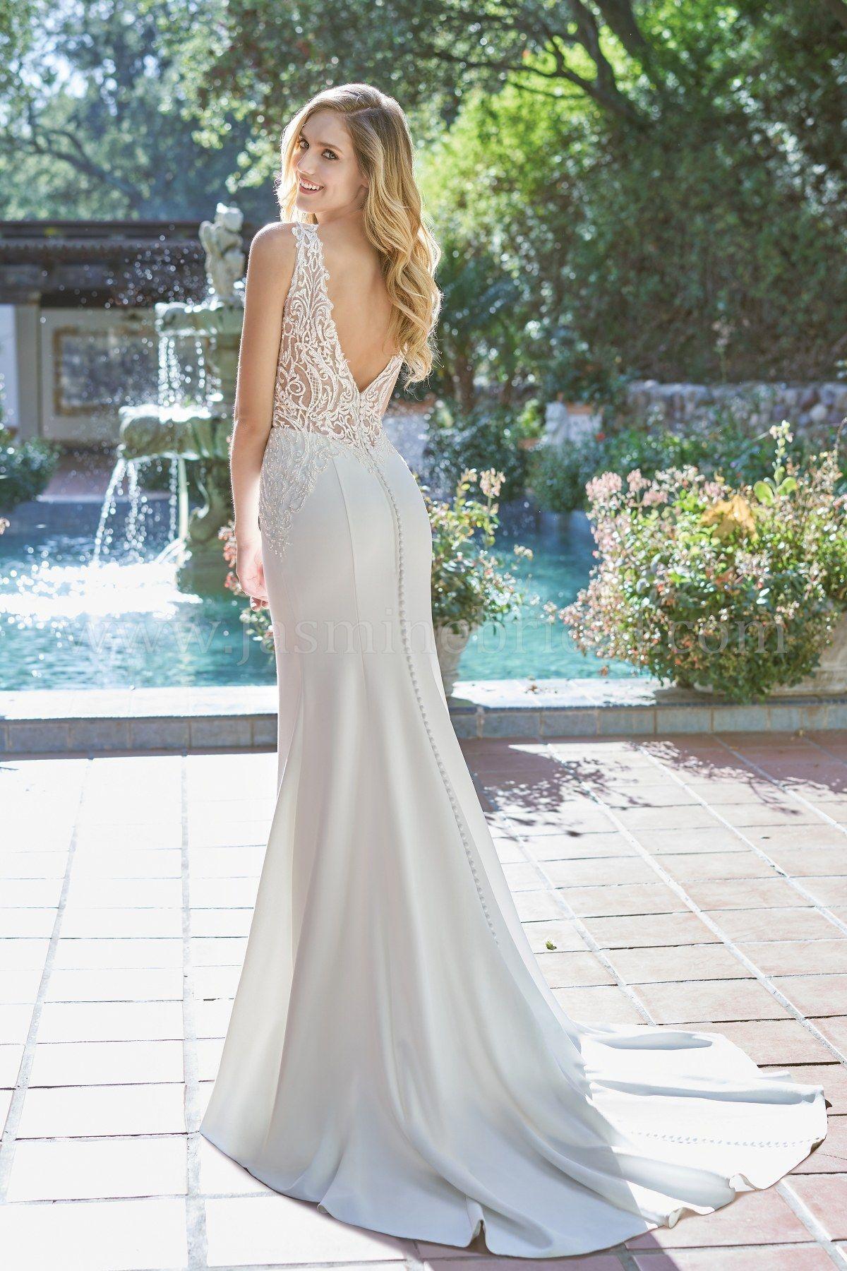 Jasmine wedding dresses  Jasmine Bridal Wedding Dress  Beautiful Wedding Dress  Simple