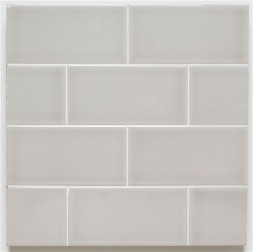 H Line | 3x6 Glossy Subway Tile | Pumice
