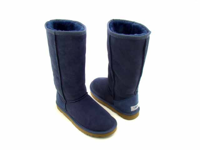 Cheap UGG Classic 5815 Navy Blue Tall Fashion Boots, $100