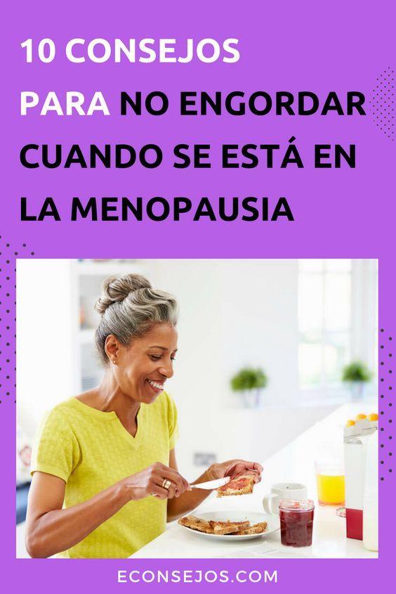 Menopausia dieta y ejercicio