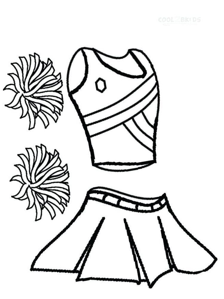 Cheerleader Coloring Pages To Print Free Do You Like Watching Basketball Matches When A Basketba In 2020 Sports Coloring Pages Coloring Pages Coloring Pages To Print