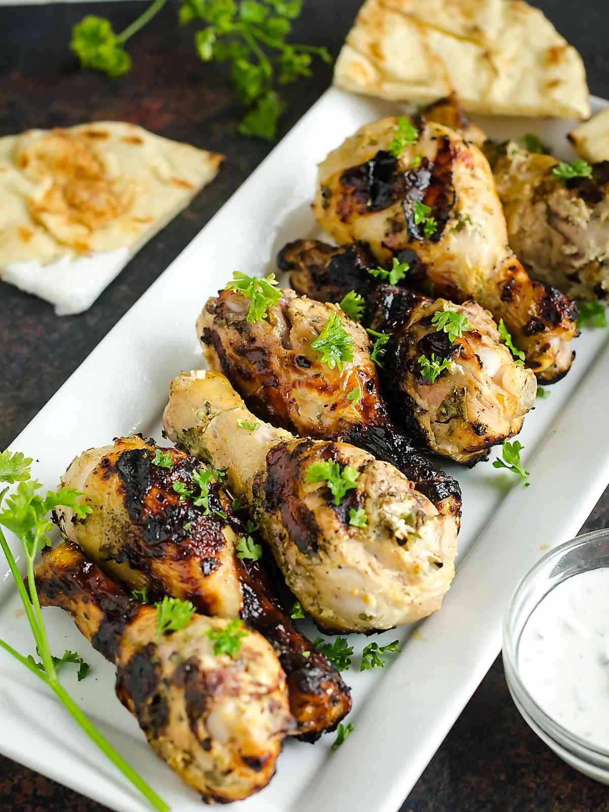 Greek Yogurt Grilled Chicken