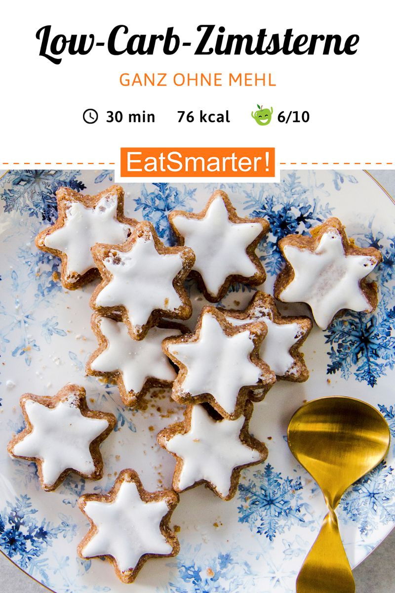 Zimtsterne (auch für Diabetiker geeignet) - Rezept - diabetes.moglebaum.com