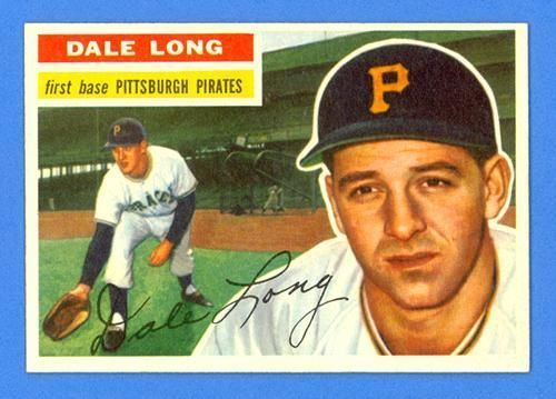 Dale Long 1956 Topps 56 Pittsburgh Pirates Gorgeous Sharp Ebay Baseball Cards Baseball Cards For Sale Pittsburgh Pirates