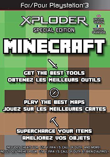 Xploder Special Edition For Minecraft PSPC DVD Niftywarehouse - Minecraft ps3 auf pc spielen