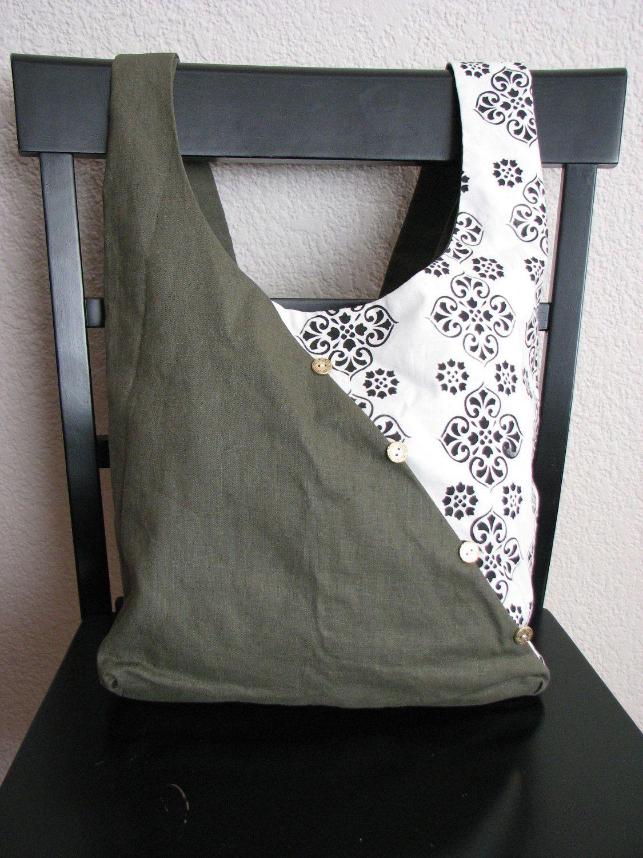 reversible shoulder sling bag victorian army basteln. Black Bedroom Furniture Sets. Home Design Ideas