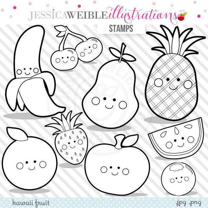 Il Fullxfull 757222887 Fdc0 Jpg 700 700 Dibujos De Frutas