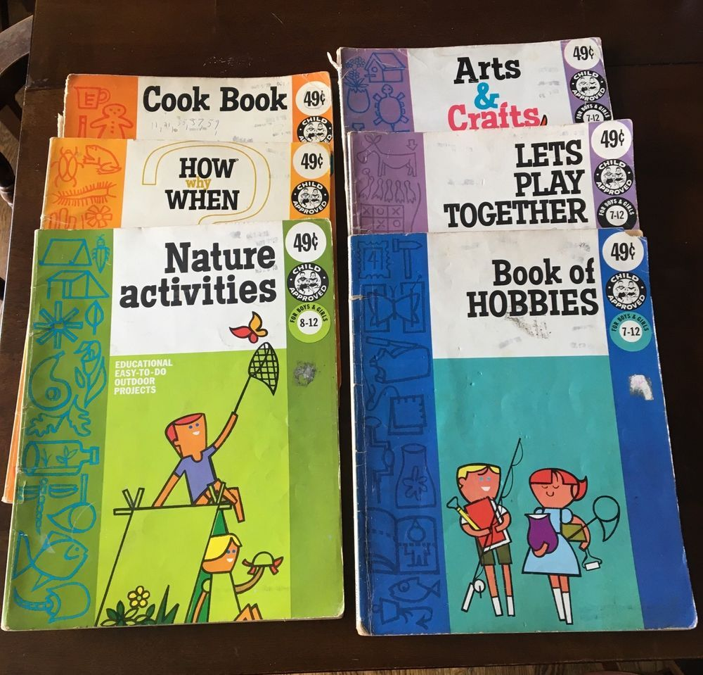 Lot of 6 Vintage Ottenheimer Child Approved Craft Activity