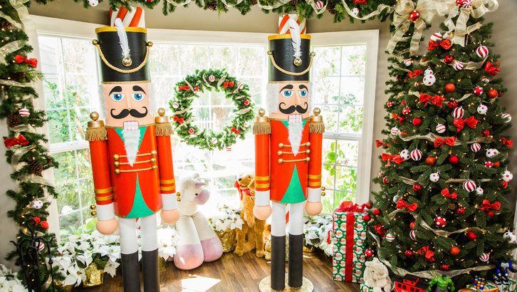 picture regarding Home and Family Christmas Workbook called How In the direction of - Do-it-yourself Everyday living-Dimension Nutcracker Hallmark Channel