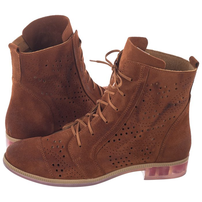 Botki Maciejka Brazowe 04468 29 00 5 Boots Combat Boots Shoes