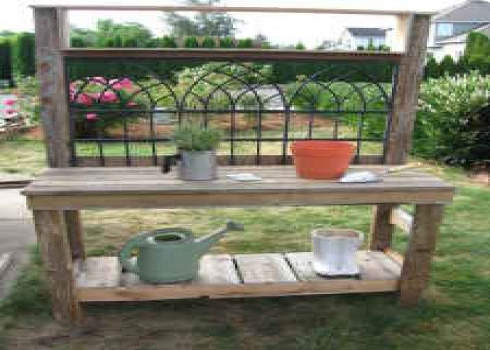 Superb Free Potting Bench Plans Greenhouse Potting Benches Creativecarmelina Interior Chair Design Creativecarmelinacom