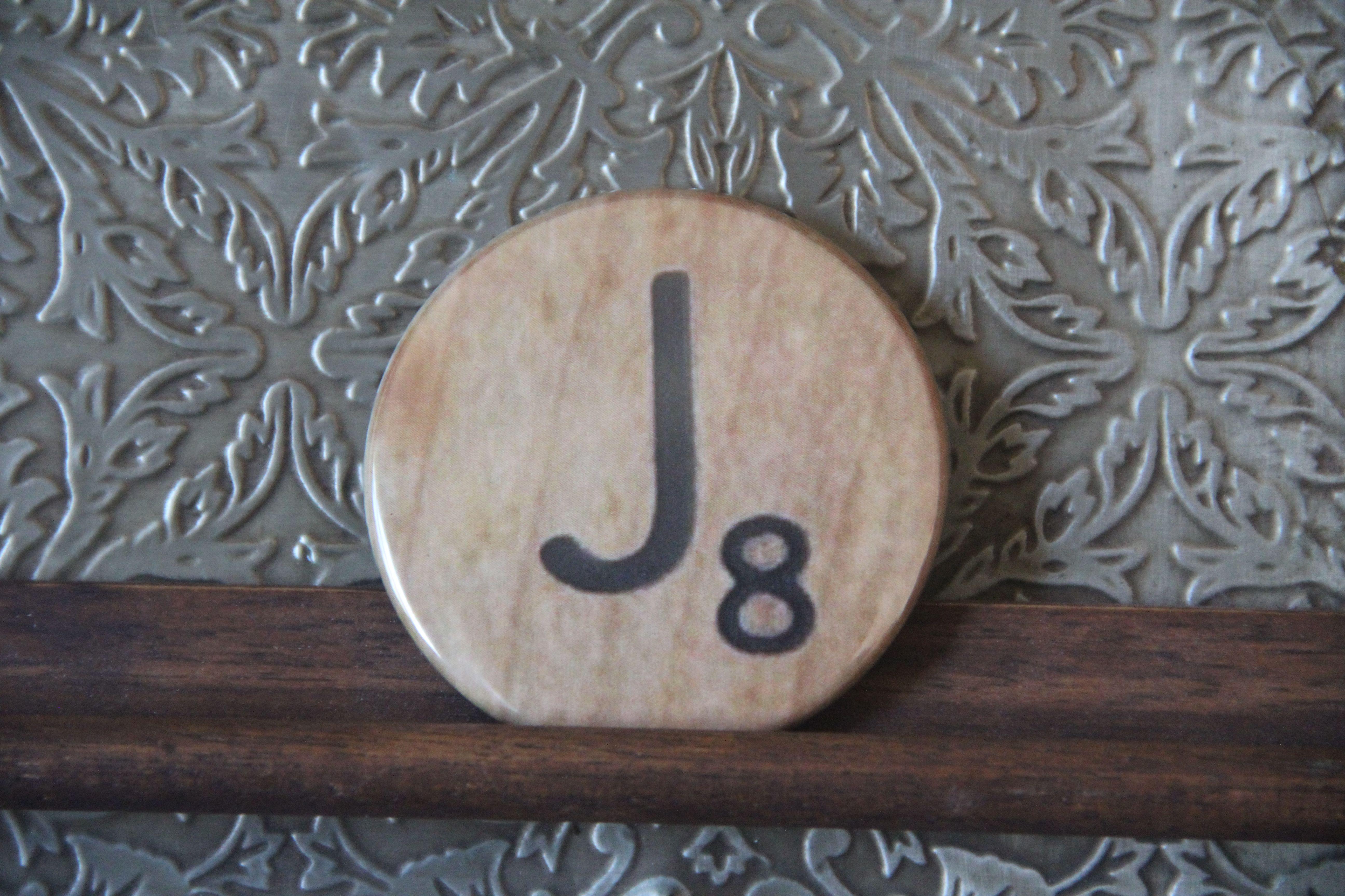 Scrabble Letter J Complete Alphabet Available