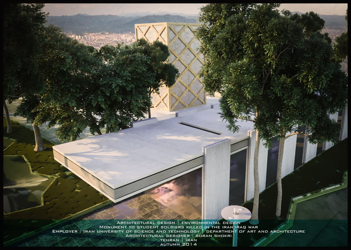 Architectural Design Environmental Design Monument To Student