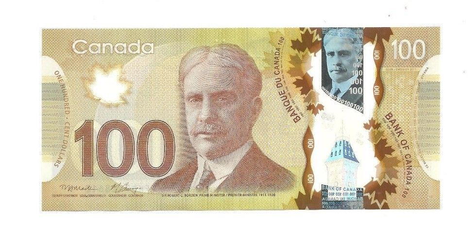 Canadian 100 Dollar Bill Note 2011 Collectors Mint Condition Free Shipping Bank Notes Small Business Marketing Strategy Canadian Coins