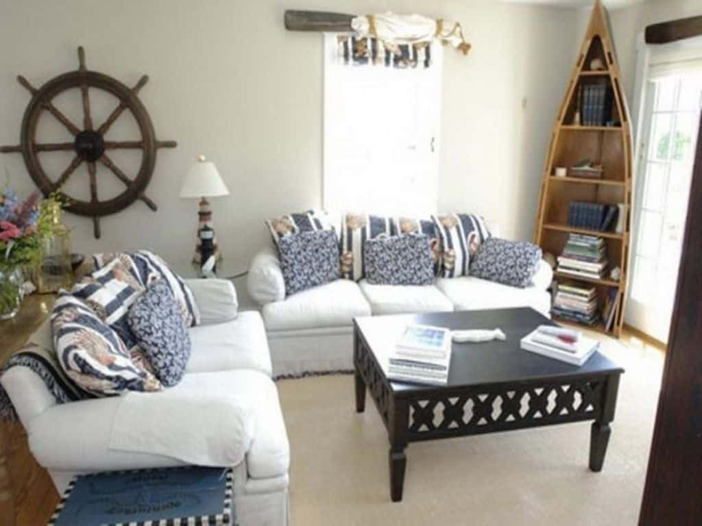 Photo of Nautical Decor Brings Oceanic Themes Into A Home