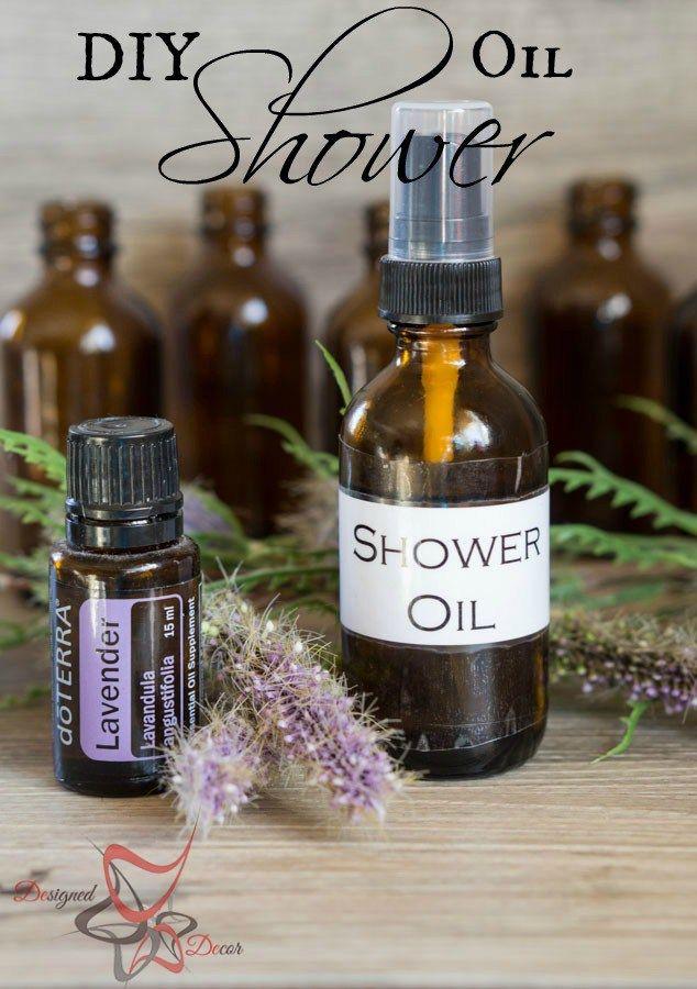 Diy After Shower Body Oil Designed Decor Recipe Body Oil Diy Diy Essential Oils Body Oil
