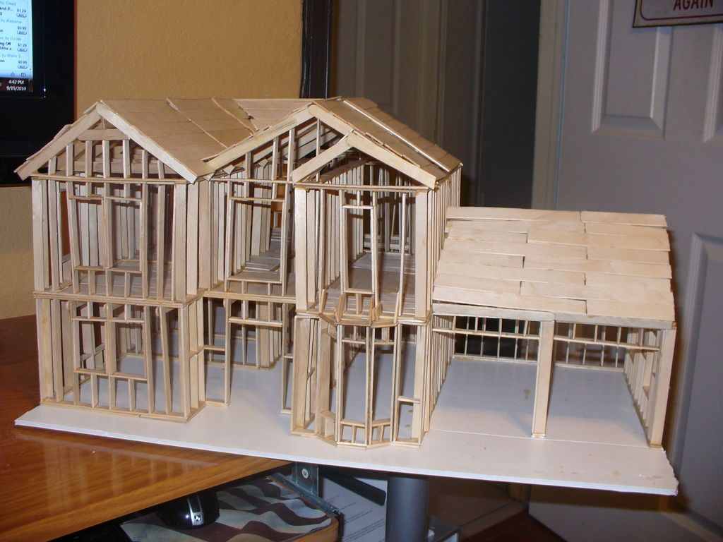 Build a model of my house