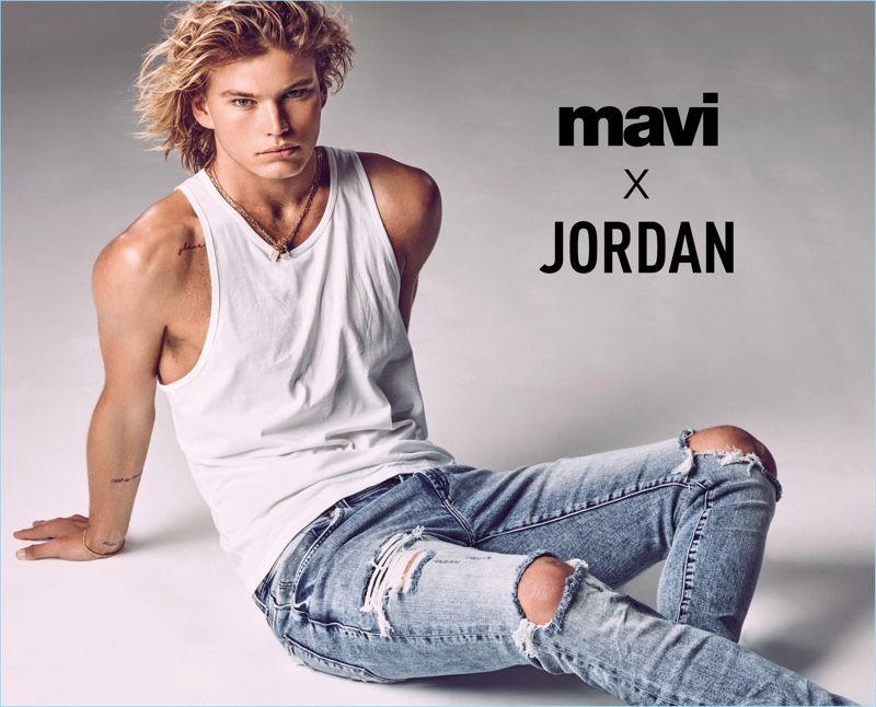 4bb5a4ab1bf092 Mavi enlists Jordan Barrett as the star of its spring-summer 2018 campaign.