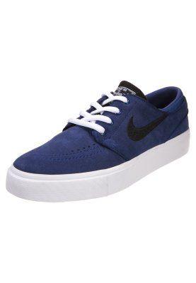 Nike SB STEFAN JANOSKI - Sneakers laag - deep royal blue/black/white -