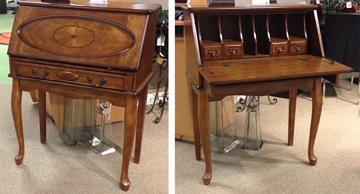 Glen Eagle Secretary Desk This Traditional Secretary Desk Offers A