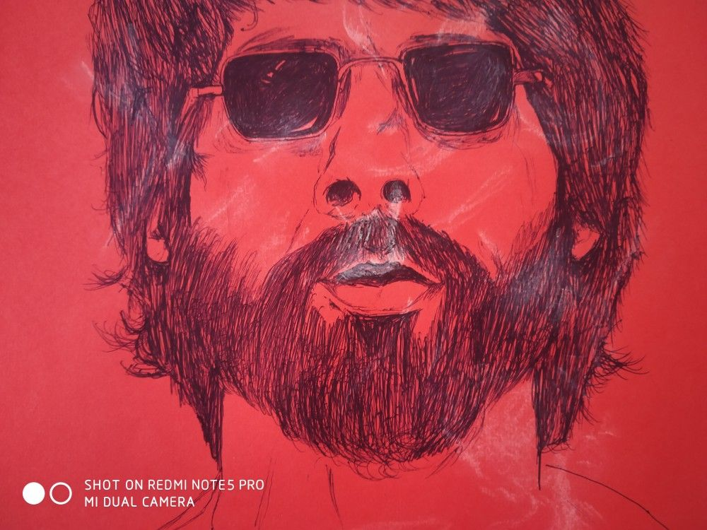 This Sketch Made By Me Is From The Movie Kabir Singh Releasing