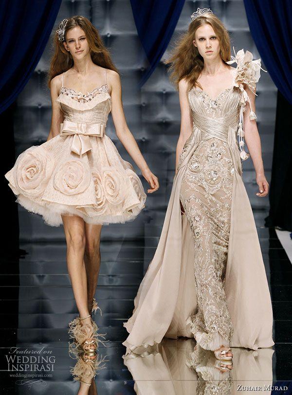 Bodice On Left For Talent Zuhair Murad Long Dressesshort Wedding