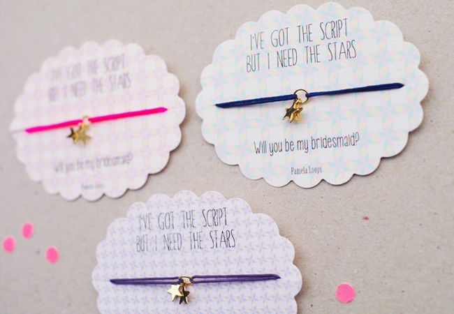 18 Creative Ways To Propose To Your Bridesmaids Proposals Wedding