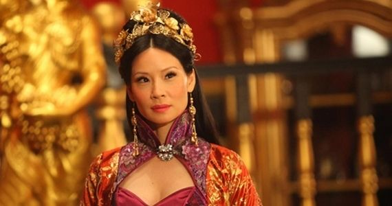 Lucy Liu in a production still from her movie 'Man with the Iron Fist'. (2012)