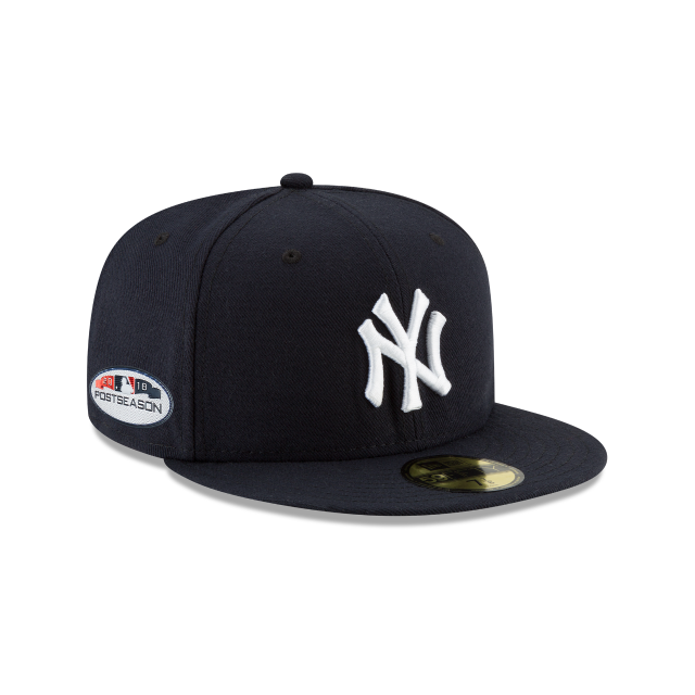 5612e7079cd80e NEW YORK YANKEES POSTSEASON SIDE PATCH 59FIFTY FITTED   MLB ...