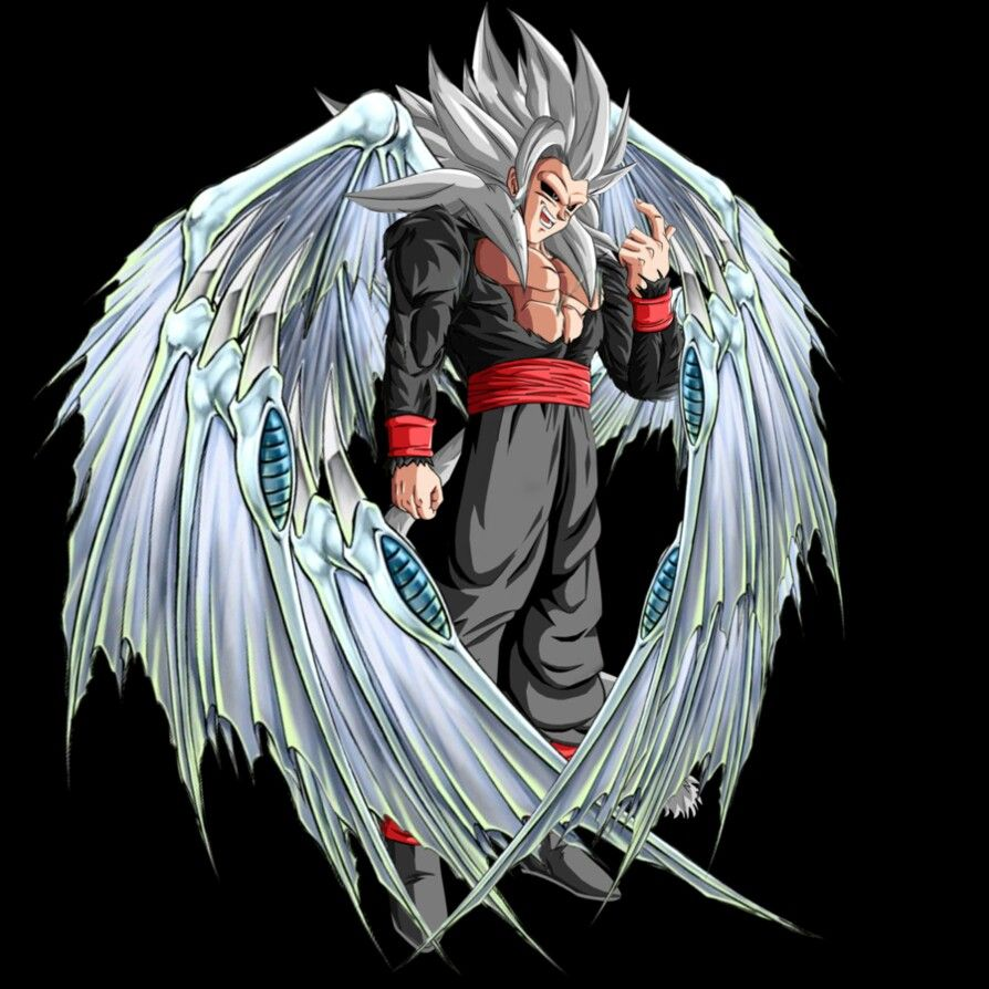 Evil Goku (what's With The Wings)?