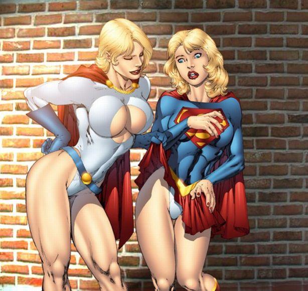 Poderosa e Supergirl