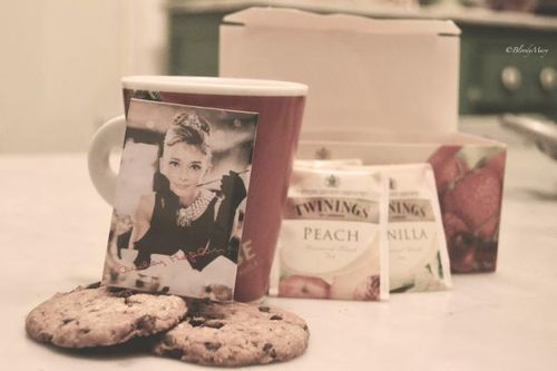 tea, biscuits and breakfast at tiffany's ♥♥