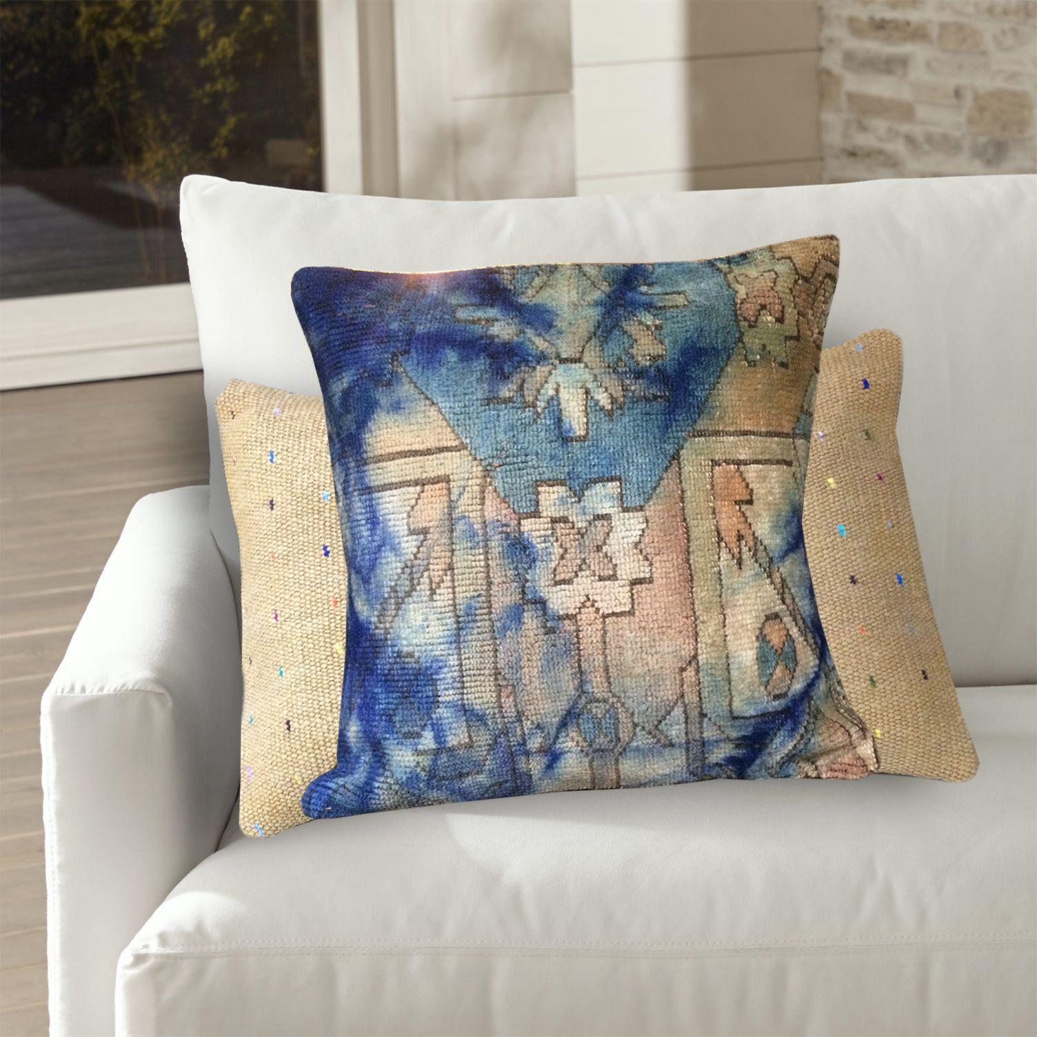 Turkish Kilim Pillow Kilim Cushions Rug Pillow Handmade Pillow Throw Pillow 20/'/' x 20/'/' inches Kilim Pillow cover Child room pillow618