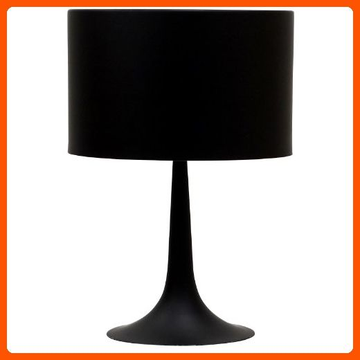 Lexmod spun style table lamp in black improve your home amazon partner
