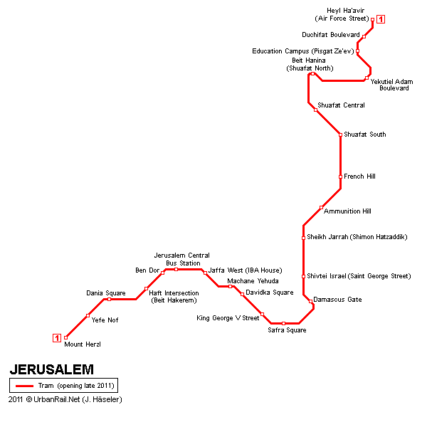 Jerusalem tram map Things to do in Israel Pinterest Jerusalem