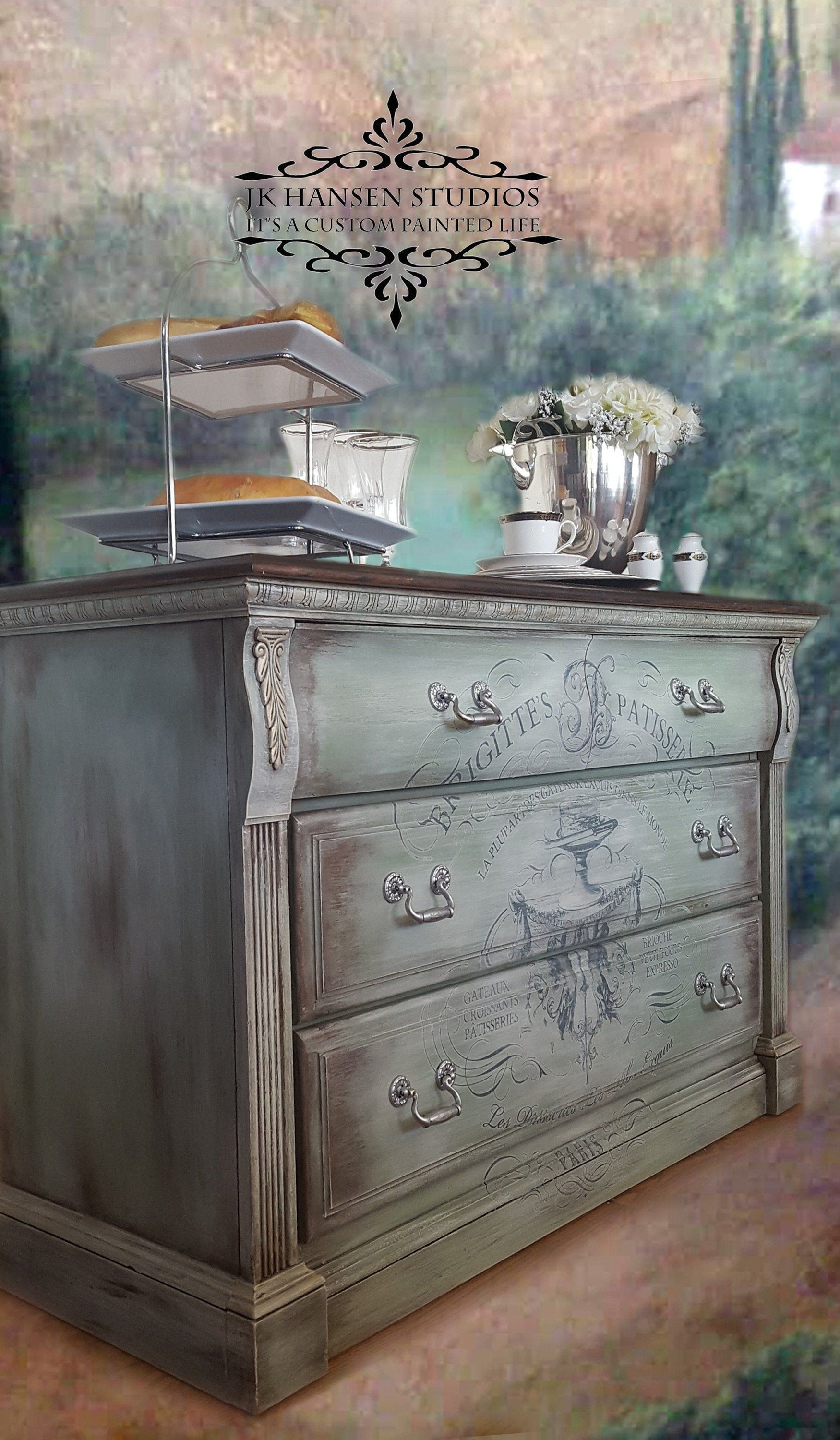 Sold French Country Server Buffet Butler Server Etsy Painted Furniture Chalk Paint Furniture Hand Painted Furniture